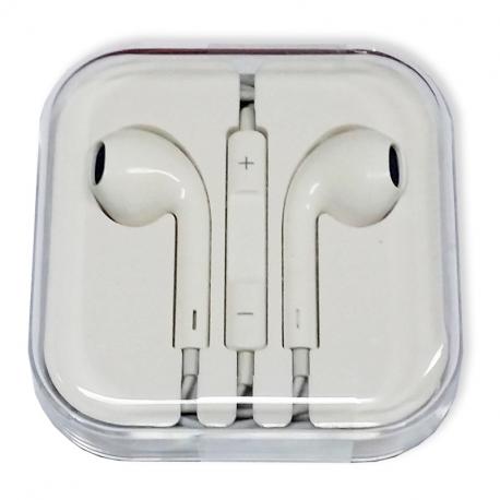 Apple EarPods with 3.5 mm Headphone Plug (white collar)
