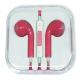 Apple EarPods with 3.5 mm Headphone Plug (pink collar)