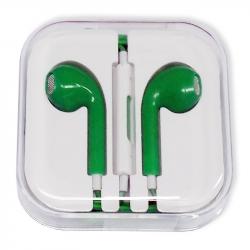 Apple EarPods with 3.5 mm Headphone Plug (green collar)