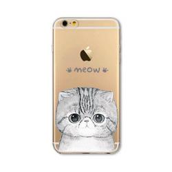 Kočka mňau obal iPhone 6