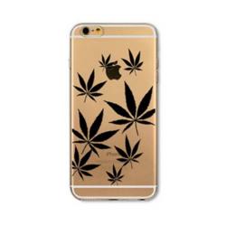 Marihuana černá obal iPhone 6