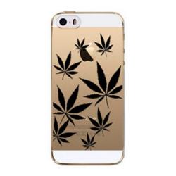Marihuana černá obal iPhone 5